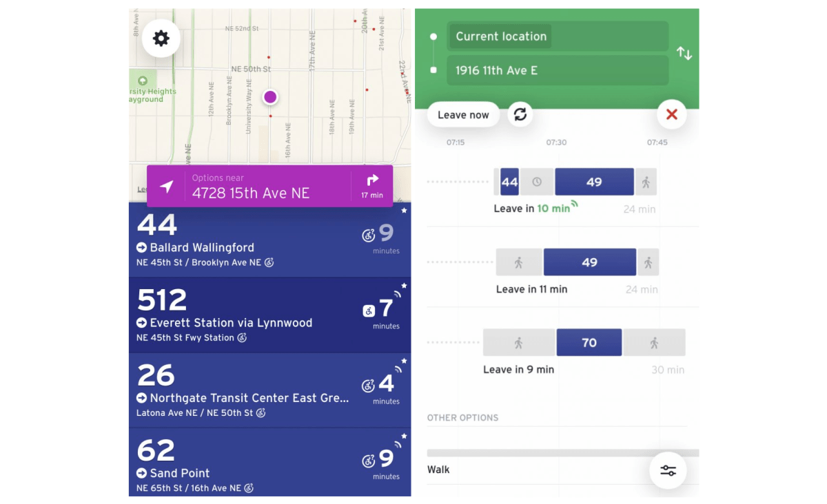 Transit App Improves Real-time Arrival Info, Including For Community Transit